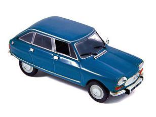 ミニカー NOREV / ノレブ シトロエン アミ 8 1969年 - Danube Blue