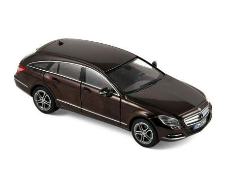 ミニカー NOREV / ノレブ メルセデス ・ ベンツ CLS シューティングブレーキ 12 Mブラウン Mercedes benz