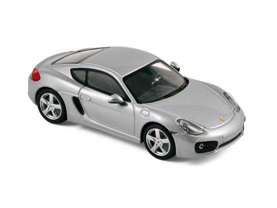 ミニカー NOREV / ノレブ ポルシェ ケイマン S 2013 シルバー Porsche