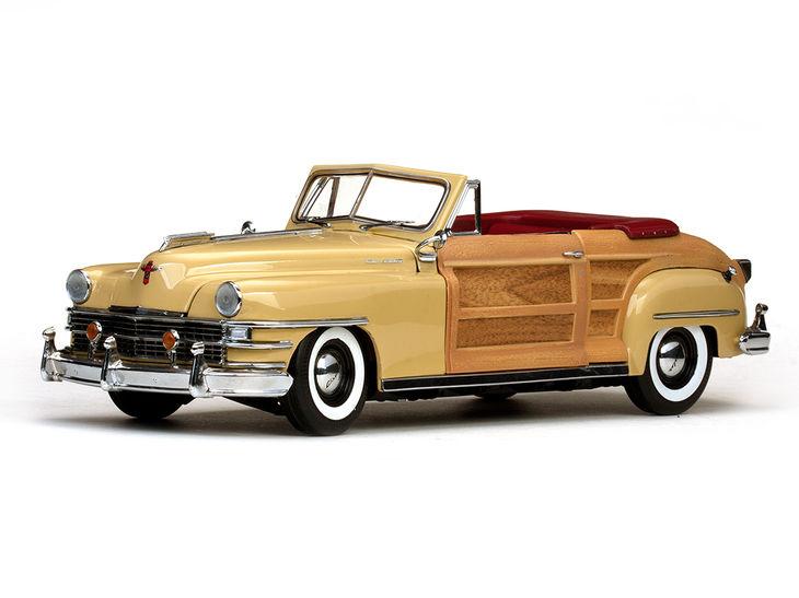 ミニカー SunStar / サンスター クライスラー タウン&カントリー 1948
