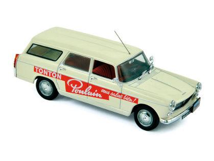 ミニカー NOREV / ノレブ プジョー 404 ブレーク 1963年ツール・ド・フランス 「Poulain」