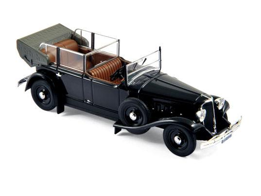 ミニカー NOREV / ノレブ ルノー Reinastella アルベール・ルブラン大統領専用車 1936 ブラック