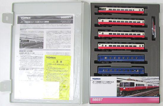新着セール 鉄道模型 Nゲージ ☆ SALE 中古 TOMIX A 実物 6両セット JR リゾート白馬 14系客車 98697
