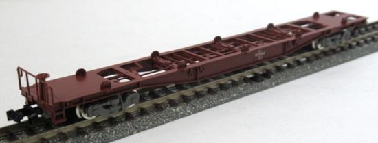 鉄道模型 Nゲージ 中古 TOMIX 98979セットバラ 25%OFF 1両のみ コキ51864 JR A グレー台車 コンテナなし 付属品無し コキ50000形貨車 TOMIXクリアケース入り スピード対応 全国送料無料 車両のみ セットバラシ品