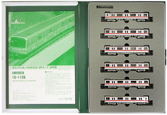 【中古】Nゲージ/KATO 10-1126 東京メトロ 丸ノ内線 02系 6両セット【A】