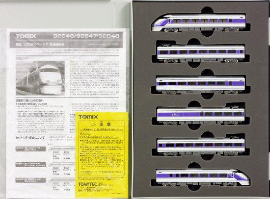 【中古】Nゲージ/TOMIX 92846 東武100系 スペーシア(雅カラー)6両セット 2012年ロット【B】車輪メッキ劣化有 スリーブ傷み 取扱説明書袋開封済み