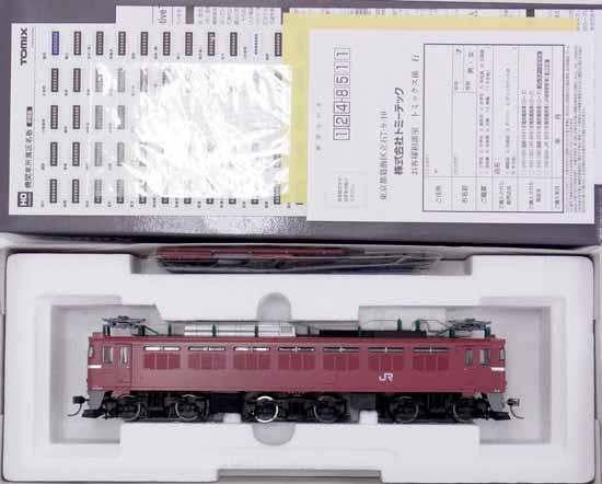 【中古】HOゲージ/TOMIX HO-130 JR EF81形電気機関車(ローズ)【D】走行音うるさい