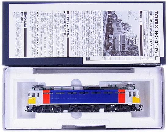 【中古】HOゲージ/TOMIX HO-192 JR EF81形電気機関車(カシオペア色) プレステージモデル【A】