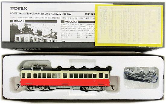 【中古】HOゲージ/TOMIX HO-605 高松琴平電気鉄道 3000形【A'】外箱傷み