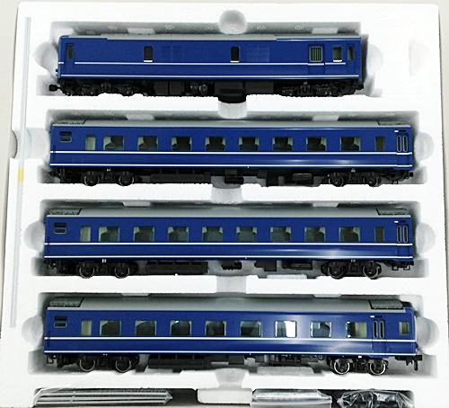 【中古】HOゲージ/TOMIX HO-9043 JR 24系24形特急寝台客車 4両セット【A】