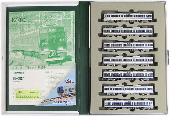 【中古】Nゲージ/KATO 10-287 321系 7両セット【A】