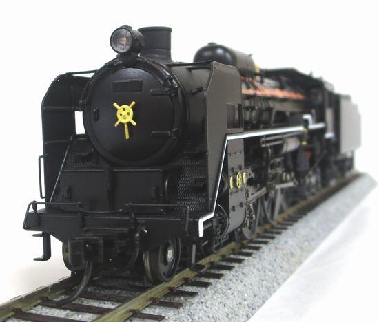 【中古】HOゲージ/天賞堂 71032 C61形蒸気機関車 九州タイプ 「はやぶさ」牽引機 2016年製【A】