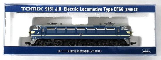 新しく着き Nゲージ/TOMIX 9151 JR EF66形電気機関車(27号機) 2019年ロット【A】, 寝心地探求紀行 R店 608e5fd2