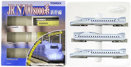 開催中 鉄道模型 発売モデル Nゲージ 中古 TOMIX 92411 JR ※外箱若干傷み N700-8000系山陽 3両基本セット 九州新幹線 2013年ロット A'