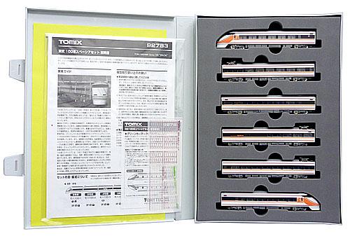【中古】Nゲージ/TOMIX 92783 東武100系スペーシア 6両セット 2006年ロット【A】