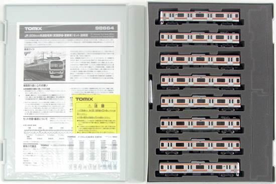 【中古】Nゲージ/TOMIX 98664 JR 209 500系通勤電車(武蔵野線・更新車) 8両セット【A】