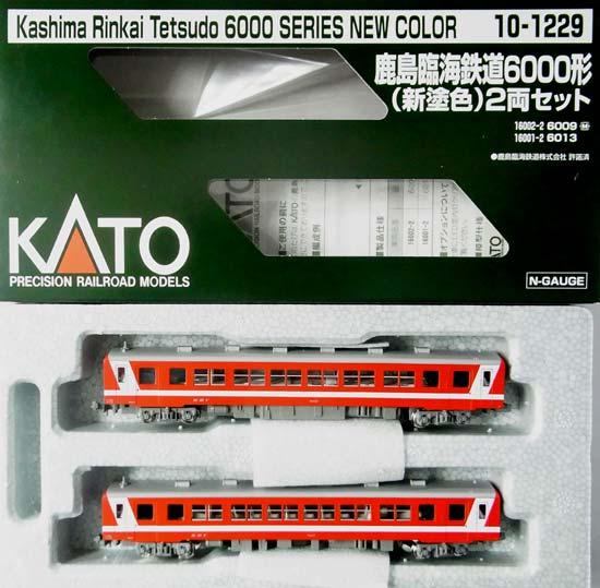 【中古】Nゲージ/KATO 10-1229 鹿島臨海鉄道6000形(新塗色) 2両セット【A】