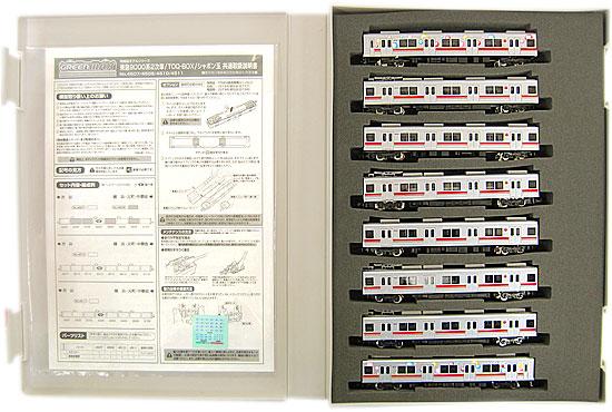 【中古】Nゲージ/グリーンマックス 4510 東急9000系シャボン玉 東横線 8両編成セット(動力付き)【A】