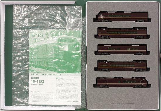 【中古】Nゲージ/KATO 10-1123 E655系 なごみ(和) 5両セット 2016年ロット【D】車輪傷み