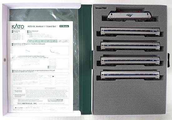 【中古】Nゲージ/KATO 10710-2 アムトラック ACS-64・アムフリートI 5両セット【A】