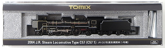 【中古】Nゲージ/TOMIX 2004 JR C57形蒸気機関車(1号機) 2018年ロット【A】