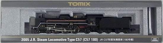 【中古】Nゲージ/TOMIX 2005 JR C57形蒸気機関車(180号機) 2019年ロット【A】