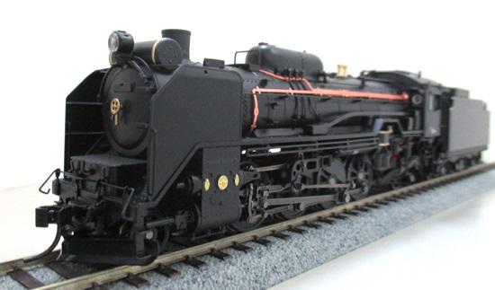 【中古】HOゲージ/天賞堂 71028 D51形蒸気機関車 498号機 JR東日本タイプ カンタムサウンドシステム搭載【C】キャブ内部のライト不灯