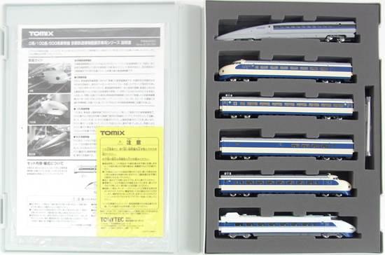 【中古】Nゲージ/TOMIX 0系/100系/500系新幹線 京都鉄道博物館展示車両シリーズ【A】