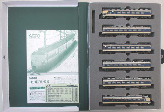 【中古】Nゲージ/KATO 10-1237 583系 6両基本セット 2014年ロット【A】