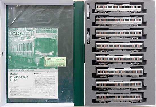 【中古】Nゲージ/KATO 10-1439 225系100番台 「新快速」 8両セット【A】