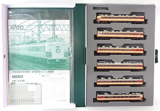 【中古】Nゲージ/KATO 10-1479 485系200番台 6両基本セット【A】