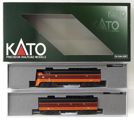 【中古】Nゲージ/KATO 10755-2 EMD FP7A+F7B ミルウォーキー・ロード 2両セット【A】