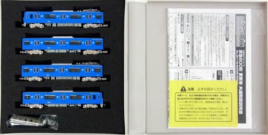 【中古】Nゲージ/グリーンマックス 50038+50039 京急600形 更新車 KEIKYU BLUE SKY TRAIN 基本+増結用中間車 8両セット【A】