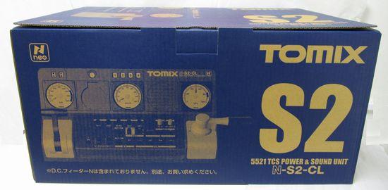 【中古】Nゲージ/TOMIX 5521 TCSパワー&サウンドユニット N-S2-CL【A'】動作確認済/箱傷み/説明書の袋開封済