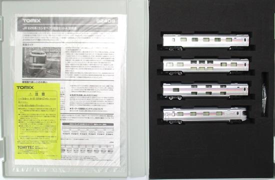 店 鉄道模型 Nゲージ 中古 TOMIX 92409 格安店 JR 2016年ロット カシオペア A 4両増結セットA E26系