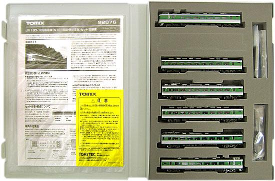 【中古】Nゲージ/TOMIX 92876 JR 183・189系電車 N101編成・あさま色 6両セット【A'】外スリーブ若干の傷み