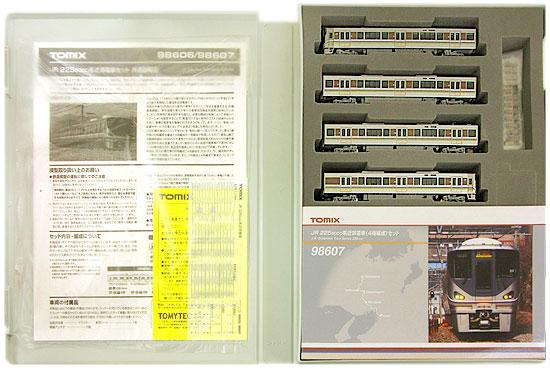 【中古】Nゲージ/TOMIX 98607 JR 225 6000系近郊電車(4両編成)セット【A】