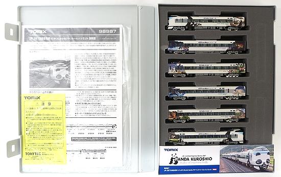 【中古】Nゲージ/TOMIX 98987  JR 287系特急電車  (パンダくろしお·Smileアドベンチャートレイン)  6両セット 限定品 【A'】 ※スリーブ傷み