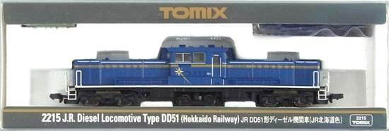 【中古】Nゲージ/TOMIX 2215 JR DD51形ディーゼル機関車(JR北海道色) 2007年ロット【A】