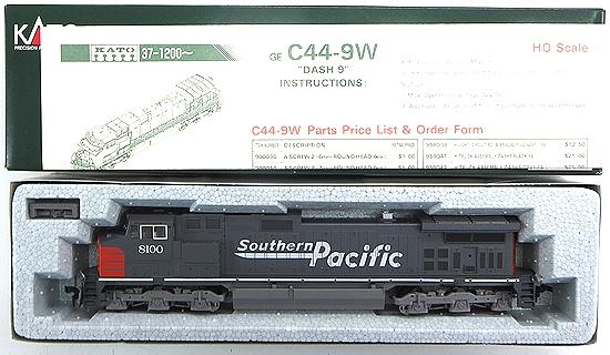 """【中古】HOゲージ/KATO 37-1205 GE C44-9W """"DASH 9"""" Southern Pacific #8100【A】"""