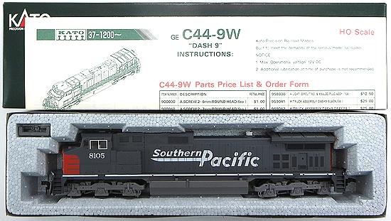 """【中古】HOゲージ/KATO 37-1206 GE C44-9W """"DASH 9"""" Southern Pacific #8105【A】"""