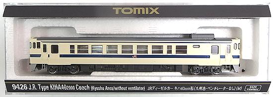 【中古】Nゲージ/TOMIX 9426 JRディーゼルカー キハ40 2000形(九州色・ベンチレーターなし)(M)【A】