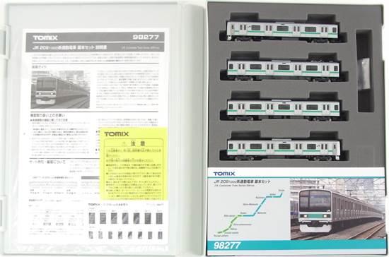 【中古】Nゲージ/TOMIX 98277 JR 209 1000系通勤電車 基本 4両セット 2018年ロット【A】