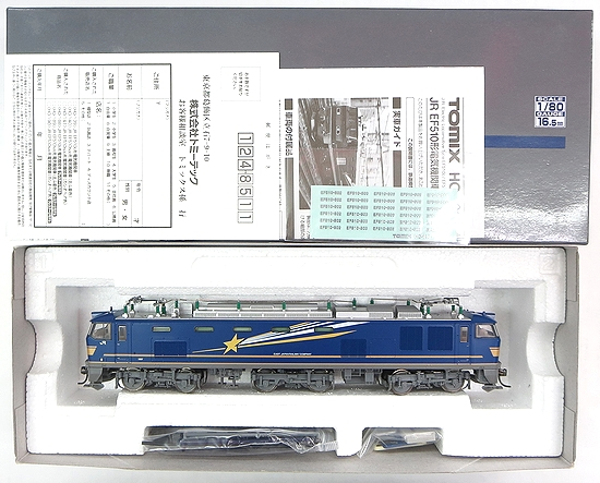 【中古】HOゲージ/TOMIX HO-140 JR EF510-500形 電気機関車(北斗星色) 2011年ロット【A】