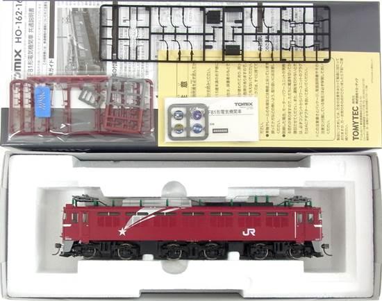【中古】HOゲージ/TOMIX HO-162 JR EF81形電気機関車(133号機・北斗星色)【A】
