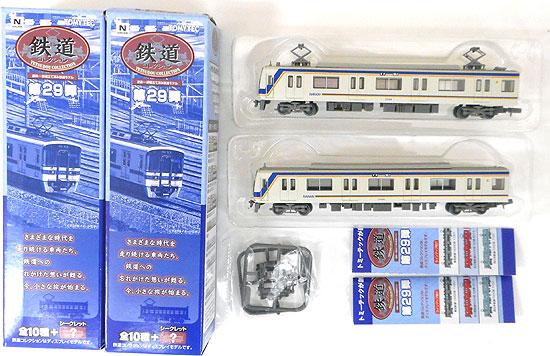 新作 鉄道模型 ニューホビー 中古 トミーテック 1443+1444 鉄道コレクション 第29弾 南海電気鉄道1000系 塗装ムラが見られる場合があります 1034+1704 ※仕様上 個体差 2両セット A ※ブラインド商品の為外箱開封済 ショップ
