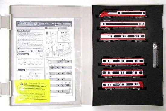 鉄道模型 Nゲージ 中古 グリーンマックス ギフ_包装 30679 名鉄1200系 リニューアル車 2020A/W新作送料無料 2020年ロット スリーブ若干傷み 動力付き 6両編成セット A' A編成