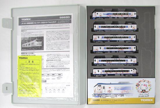 【中古】Nゲージ/TOMIX 98690 JR 281系特急電車(ハローキティ はるか・Ori-Tsuru) 6両セット 【A】