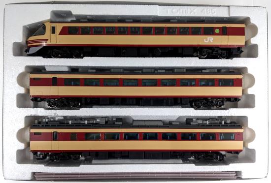 【中古】HOゲージ/TOMIX HO-9095  JR 485·489系特急電車(雷鳥·クハ489-600)  9両セット 【A】