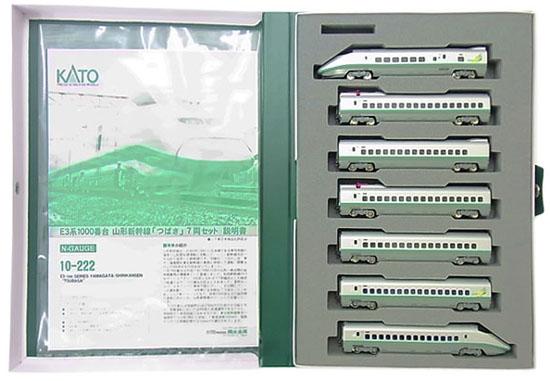 【中古】Nゲージ/KATO 10-222 E3系1000番台 山形新幹線「つばさ」 7両セット 2010年ロット【A】